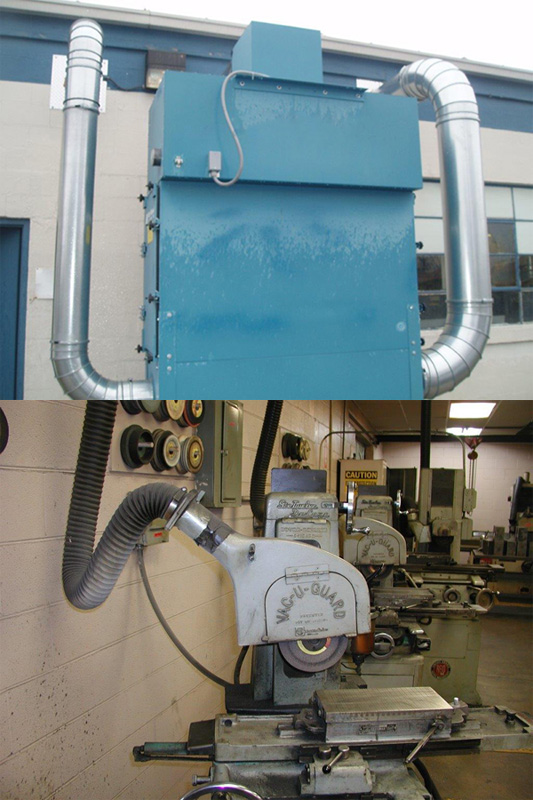 Dust Collection Application Pictures