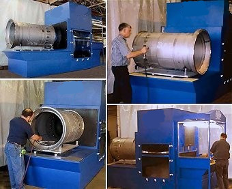 Wet Dust Collector Application Pictures