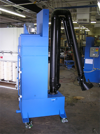 Downdraft Tables Grinding Dust Wet Collection Solutions from Diversified Air Systems