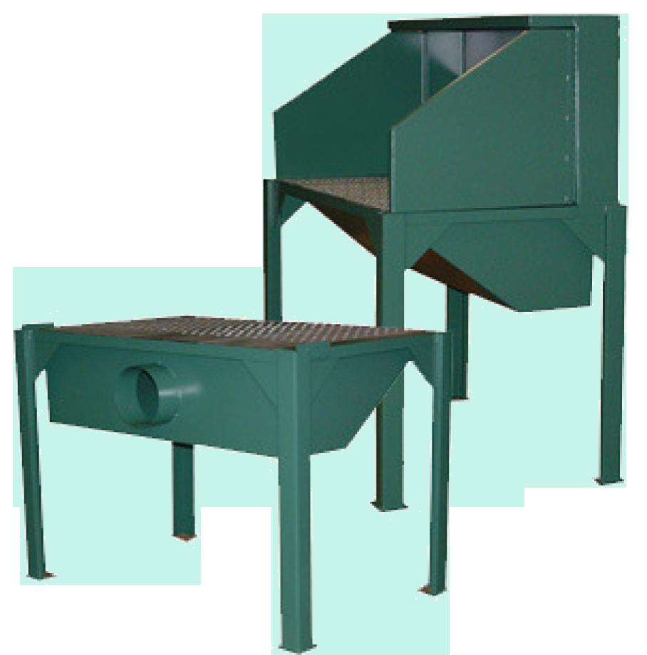 Maxflo Remote Downdraft Tables
